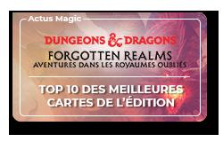 Top 10 des meilleures cartes D&D : Aventures dans les Royaumes Oubliés