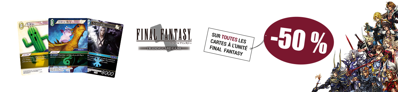 Promo cartes Final Fantasy