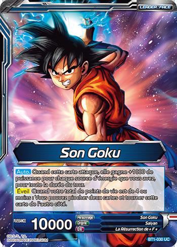 Son Goku / Son Goku Super Saiyan Bleu (BT1-030) - Son Goku