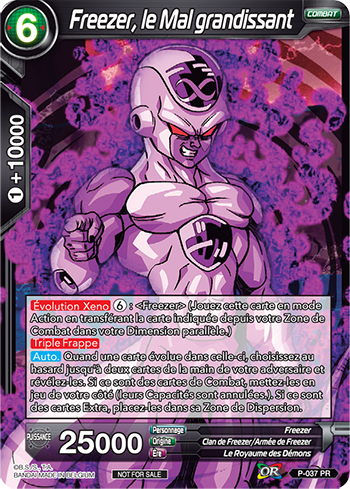 Increasing Evil Frieza Dragon Ball Super Card Game Singles