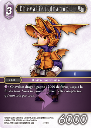 Chevalier dragon 4-119C