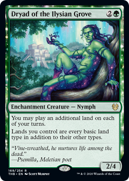 Dryad of the Ilysian Grove