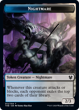 Nightmare (2/3, blue and black)