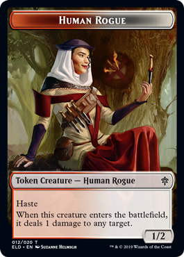 Human Rogue (1/2, red and white)