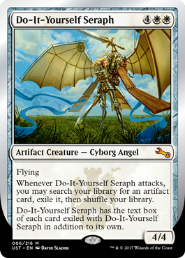 Do-It-Yourself Seraph