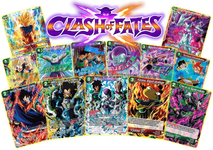 Cartes de l'édition Clash of Fates