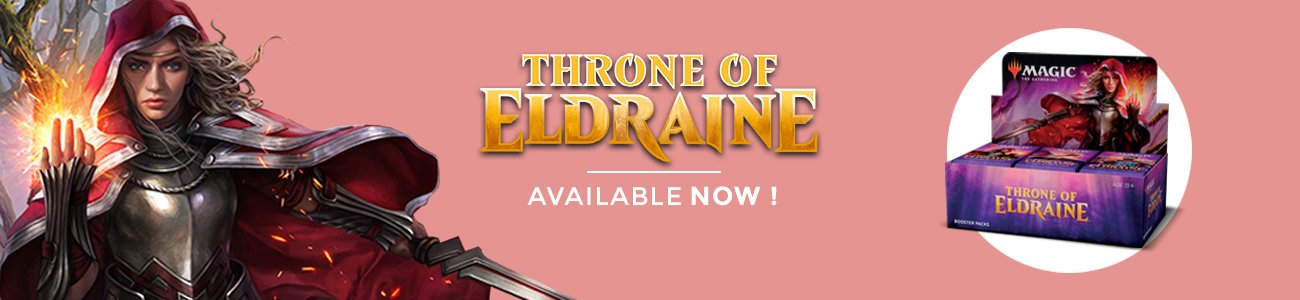 Throne of Eldraine Available Now !