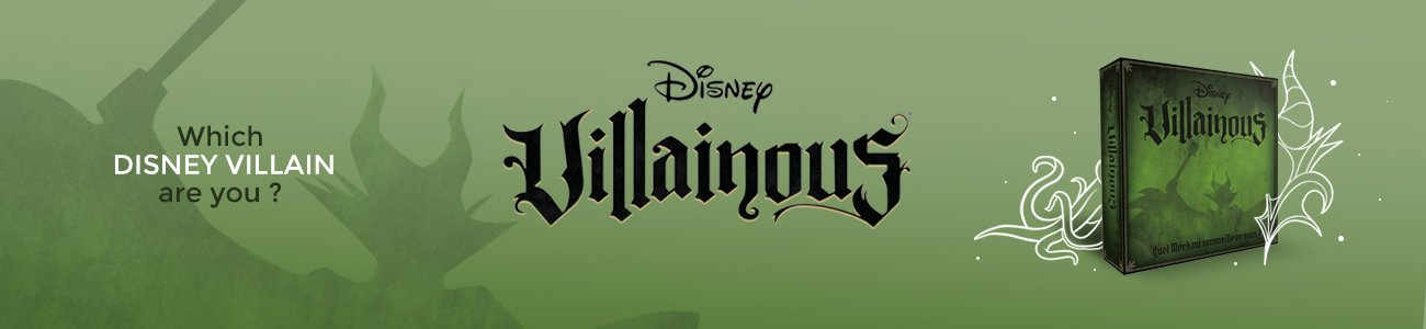 Villainous disney game