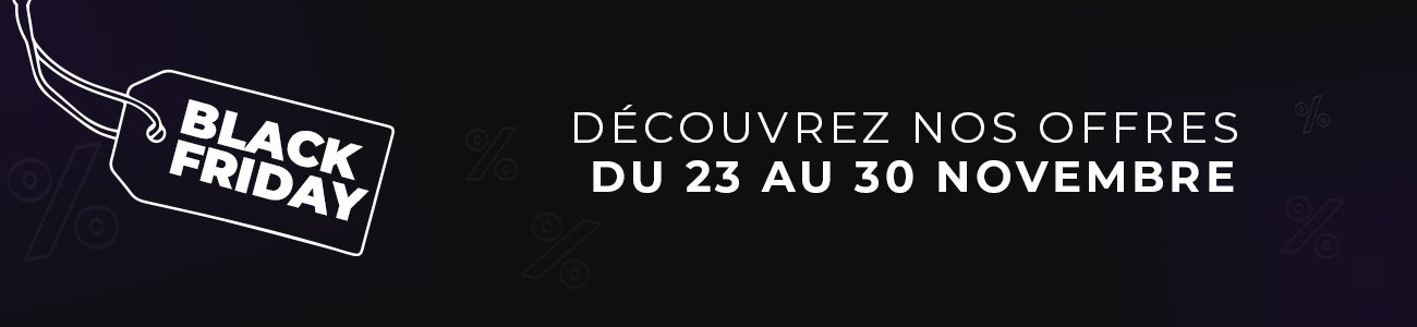 Bannière Black Friday 2020