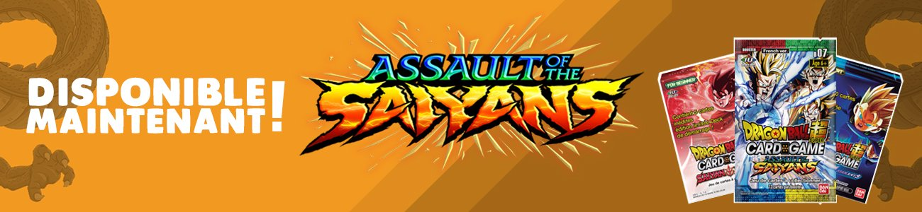 Assault of the saiyans disponible maintenant
