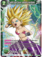 Caulifla Super Saiyan, ambitions inarrêtables (BT3-078)