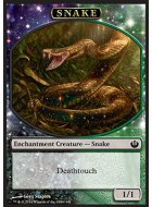 Serpent (1/1, contact mortel, enchantement)