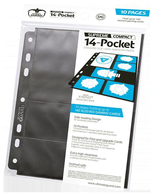 10 Pages De Classeur Supreme Compact 14 Pocket Standard