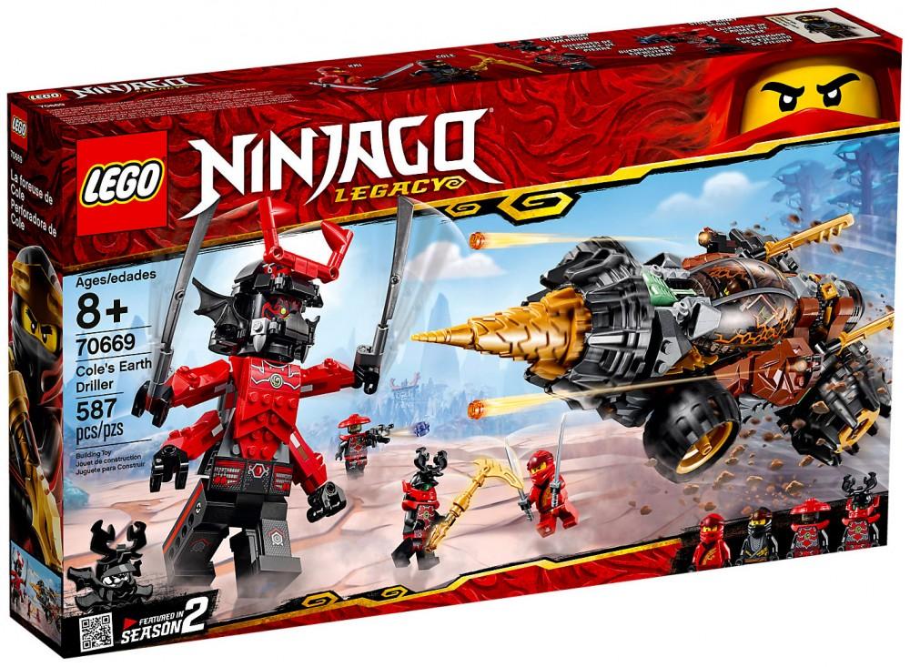 Ny0vmnw8o Cole Ninjago Lego® La Foreuse De fmv6gybIY7