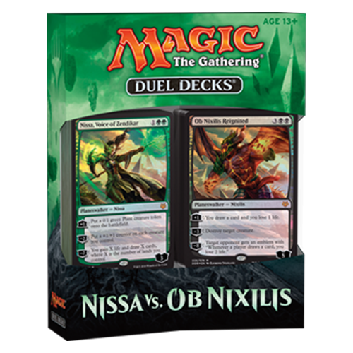 Duel Decks Speed Vs Cunning Magic The Gathering: Duel Decks: Nissa Vs. Ob Nixilis VO