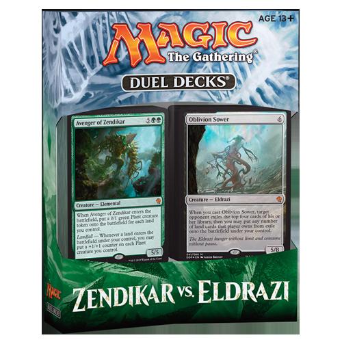 Duel Decks Speed Vs Cunning Magic The Gathering: Duel Decks: Zendikar Vs. Eldrazi VO