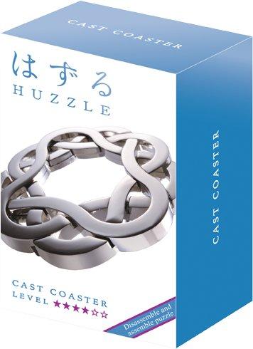 Huzzle Hourglass Cast Puzzle par Hanayama-Difficulté Note 6