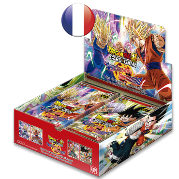 Boite de 24 boosters Dragon Ball TB2 World Martial Arts Tournament VF