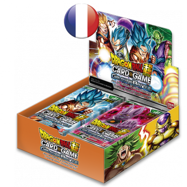 Boite de 24 boosters Dragon Ball Série 1 Galactic Battle VF