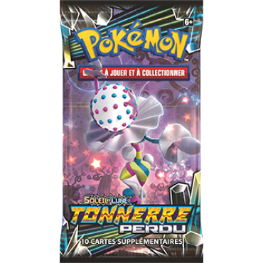 Pokémon booster packs Lost Thunder - French