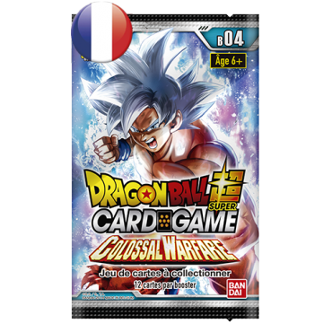 Dragon Ball Booster Pack B04 Colossal Warfare FR