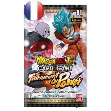 Dragon Ball Booster Pack TB1 The Tournament of Power FR