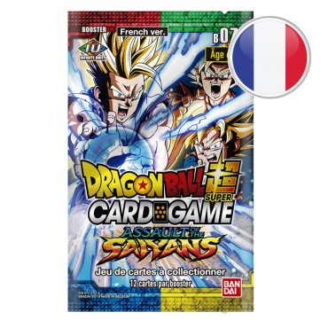Booster Dragon Ball Série 7 Assault of the Saiyans VF