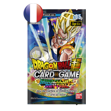 Dragon Ball Booster Pack B05 Miraculous Revival FR