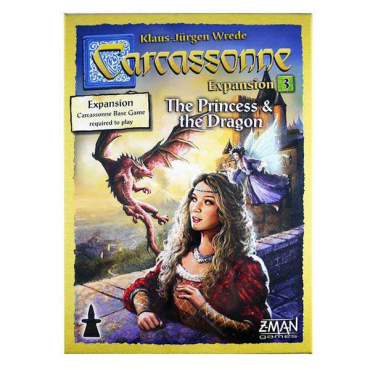 Carcassonne - Extension 3 : Princesse & Dragon - Nlle édition