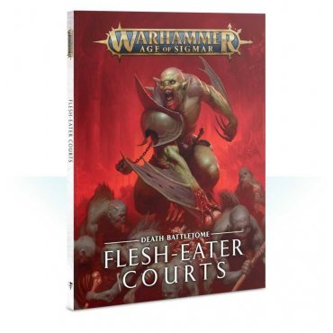 Flesh-Eater Courts Battletome 2019 Édition - Warhammer Age of Sigmar Death