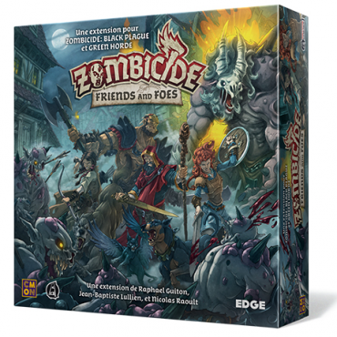 Zombicide Black Plague - Extension Friends and Foes