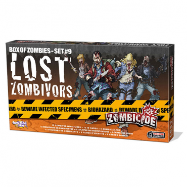 Zombicide - Extension Lost Zombivors