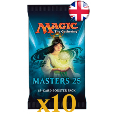 10 boosters Masters 25 VO