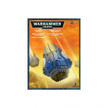 Drop Pod Space Marines - W40K Adeptus Astartes