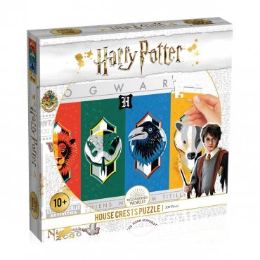 Puzzle Harry Potter les 4 Maisons