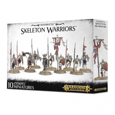 Skeleton Warriors - Warhammer Age of Sigmar Deathrattle