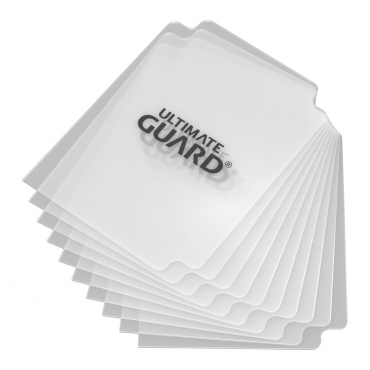 10 intercalaires Card Dividers - Transparent