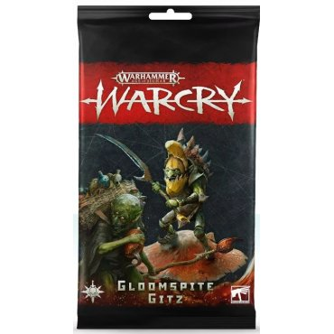 Warcry - Cards Pack Gloomspite Gitz - Warhammer Age of Sigmar