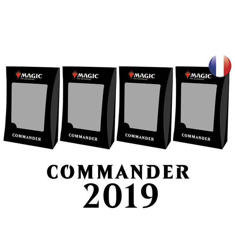 Les 4 Decks Commander 2019 VF