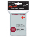 100 sous-pochettes Pro-Fit Side-Loading - Transparent