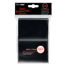 100 Ultra Pro Deck Protector Sleeves - Black