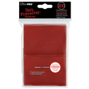 100 Ultra Pro Deck Protector Sleeves - Red