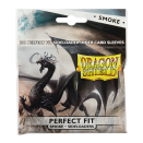 100 Sleeves Perfect Fit Sideloaders Smoke - Dragon Shield