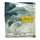 100 Sleeves Perfect Fit Sideloaders Clear - Dragon Shield