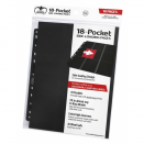 10 pages de classeur 18-Pocket Side-Loading - Noir