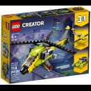 Boite de L\'aventure en hélicoptère LEGO® Creator 31092