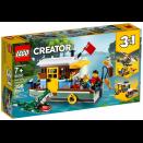 Boite de La péniche au bord du fleuve LEGO® Creator 31093