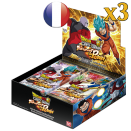 3 boites de boosters Dragon Ball TB01 Tournament of Power VF