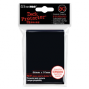 50 Ultra Pro Deck Protector Sleeves - Black