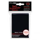 50 pochettes Ultra Pro - Noir (Raven Black) pas cher